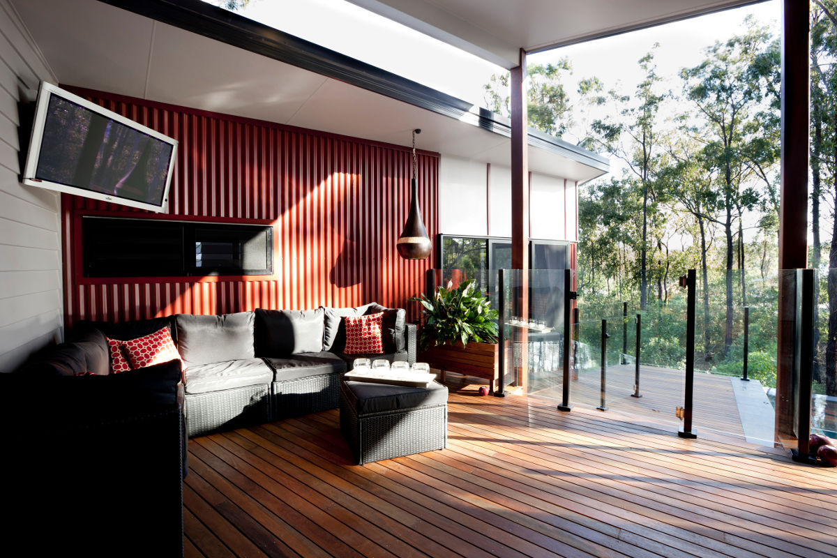 House design sloping site - Birchwood Home Wins At 2011 Master Builders Housing Awards